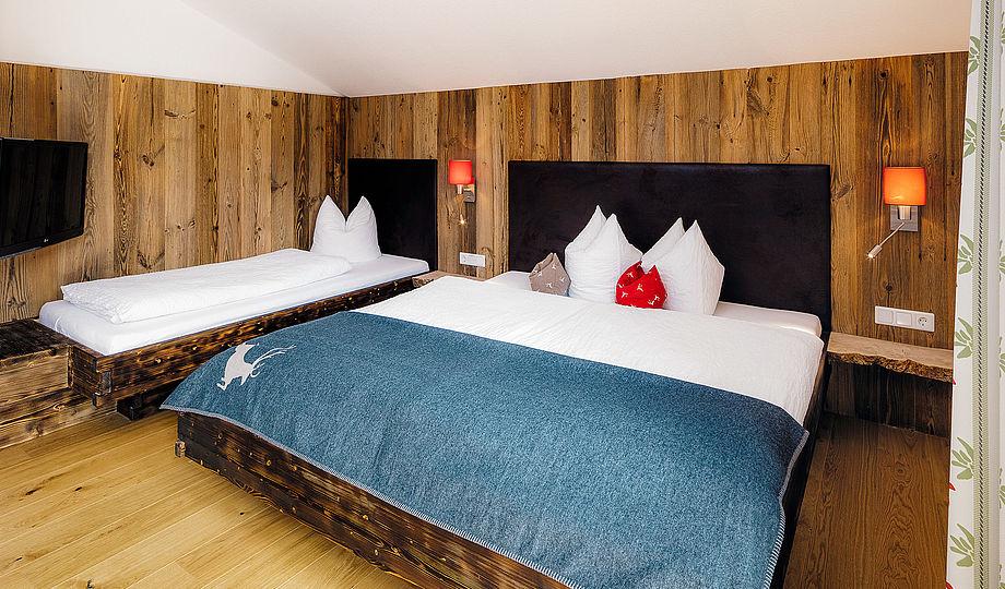 """Alpenzeit """"Herzstück"""" - Schlafzimmer"""