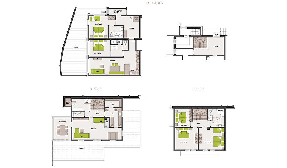 """Ferienhaus Alpenzeit """"Herzstück"""" - 230 m² für Sie allein"""