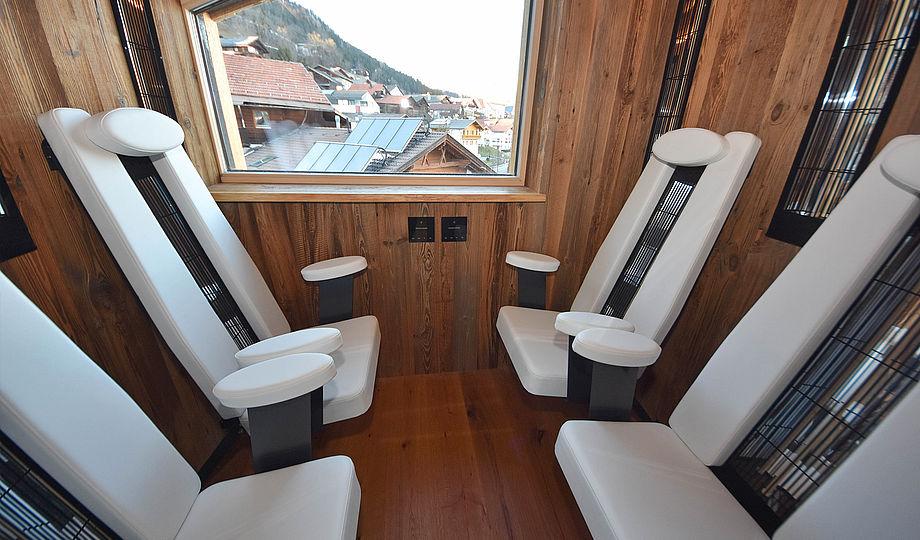 """Alpenzeit """"Tiroler Glück"""" - infrared cabin"""