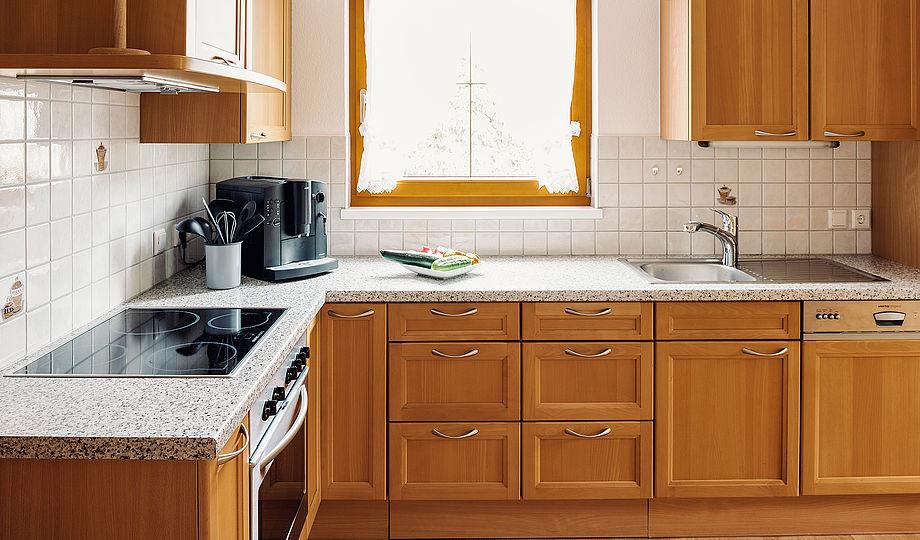 """Alpenzeit """"Herzstück"""" - kitchen"""