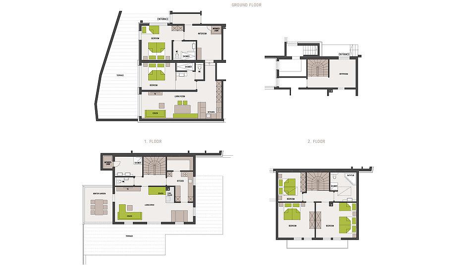 """Ferienhaus Alpenzeit """"Herzstück"""" - 230 m² just for you"""