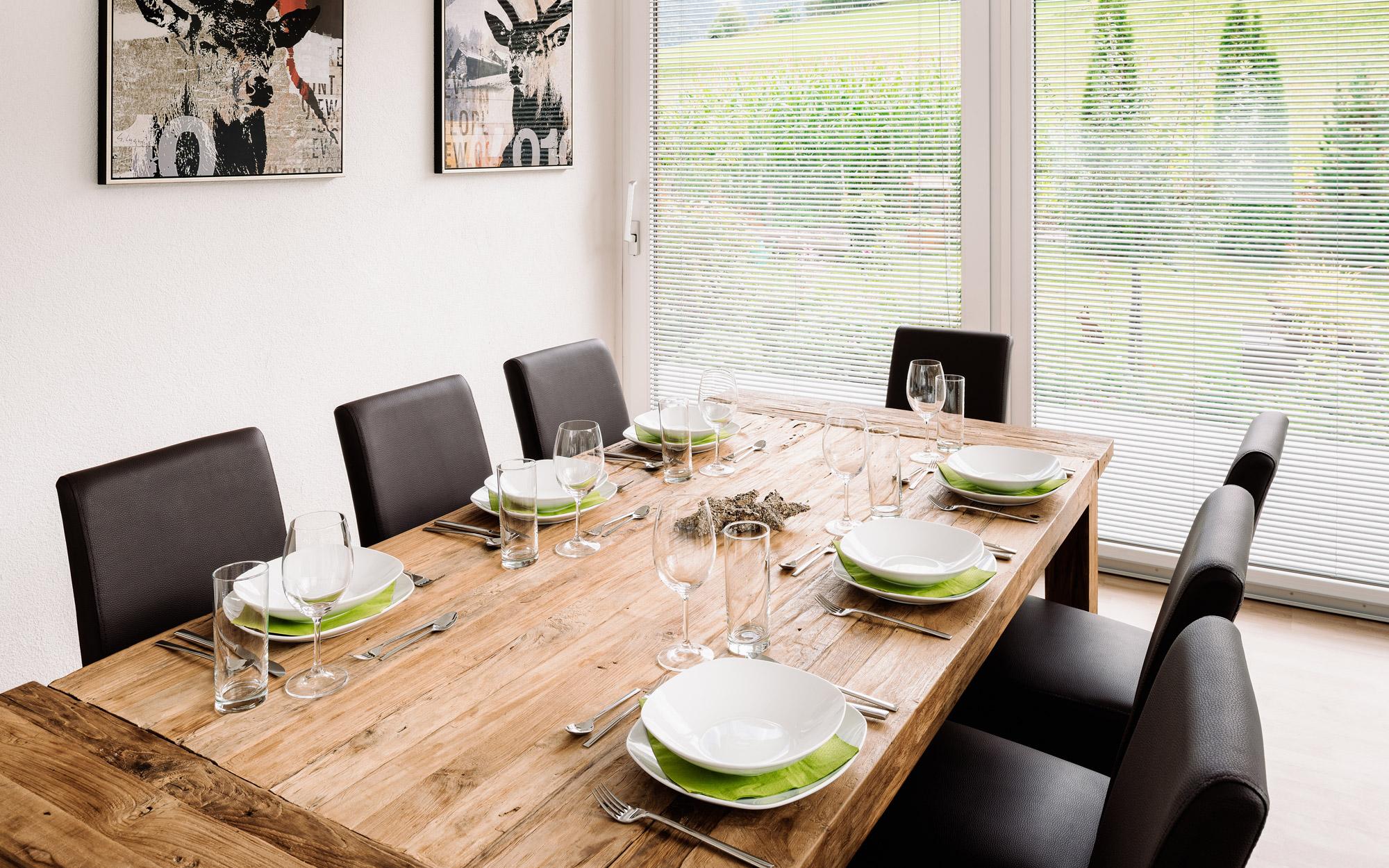 """Alpenzeit """"Herzstück"""" - dining area"""
